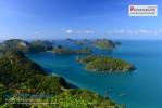 สัมผัสกลิ่นไอทะเล ชมวิวมุมสูง อช หมู่เกาะอ่างทอง