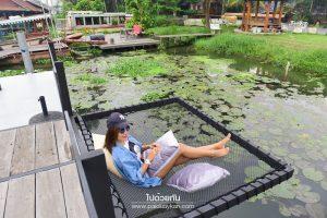 <b>Floating Space Cafe คาเฟ่เท่ๆ ตรงข้ามตลาดน้ำดอนหวาย</b>