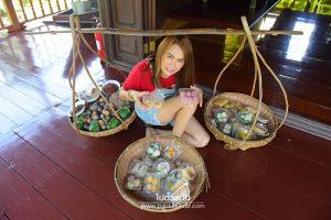 <b>พิพิธภัณฑ์ขนมไทย  อัมพวา</b>